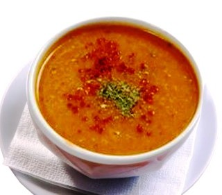 Spicy Mint and Bulgur Soup